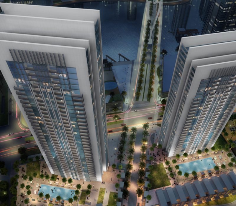 DC Dubai Creek Gate Towers