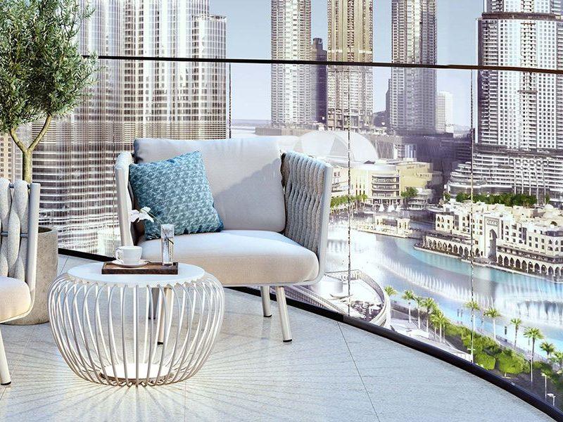 Dubai-Emaar-Grande-Apartments-Balcony-View