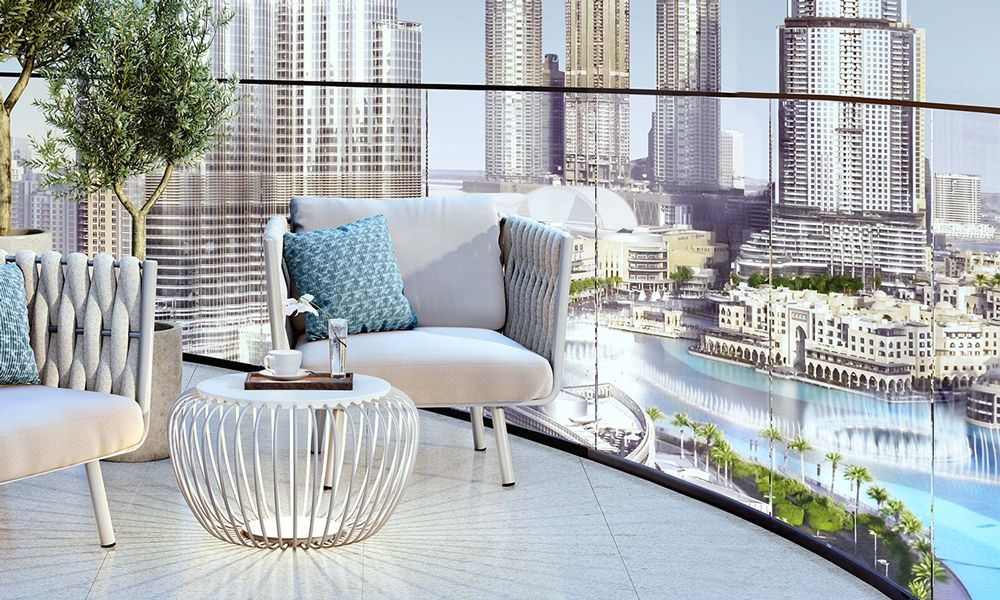 Dubai-Emaar-Grande-Apartments-Balcony-View