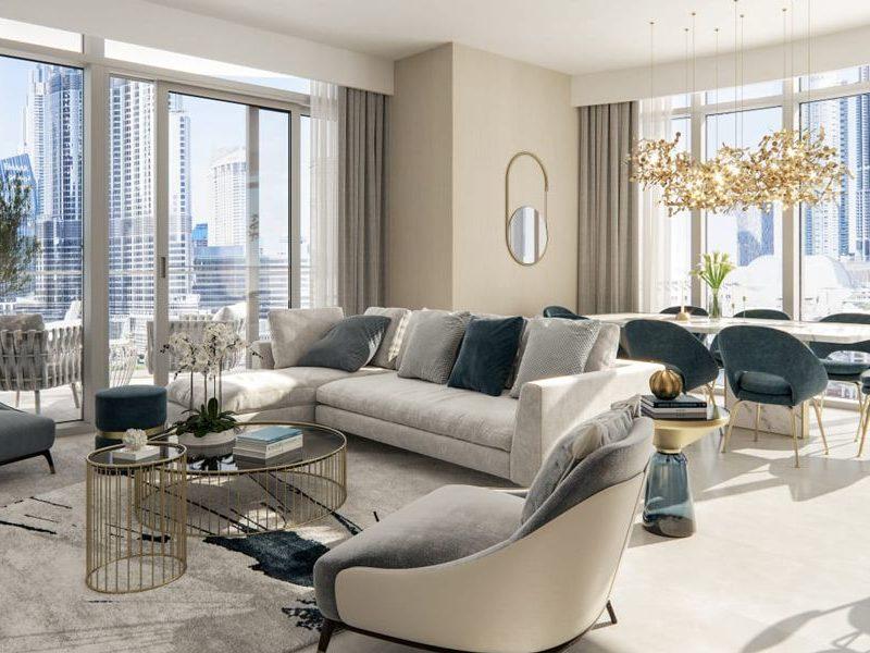 Dubai-Emaar-Grande-Apartments-Bedroom