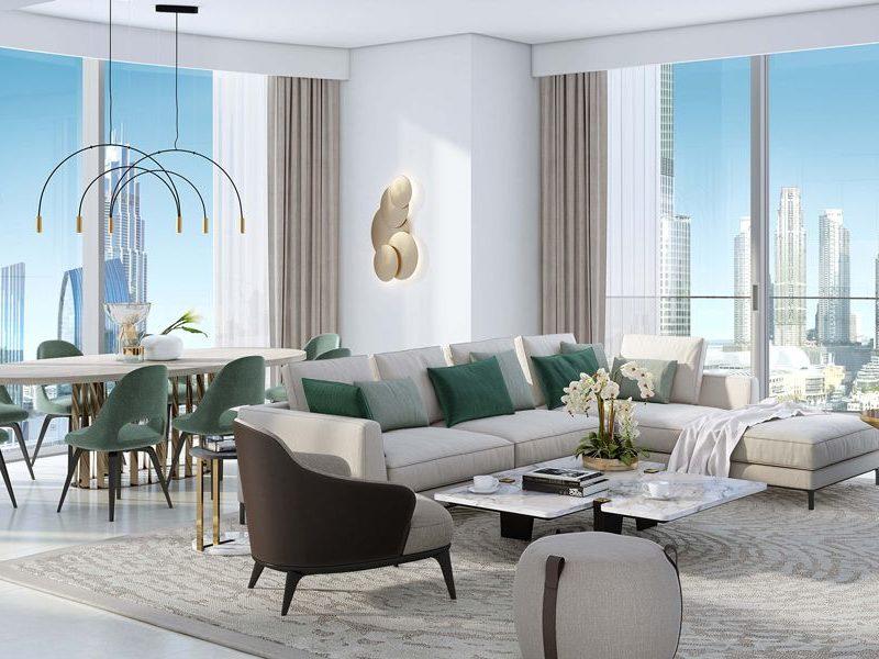 Dubai-Emaar-Grande-Apartments-Living-Area