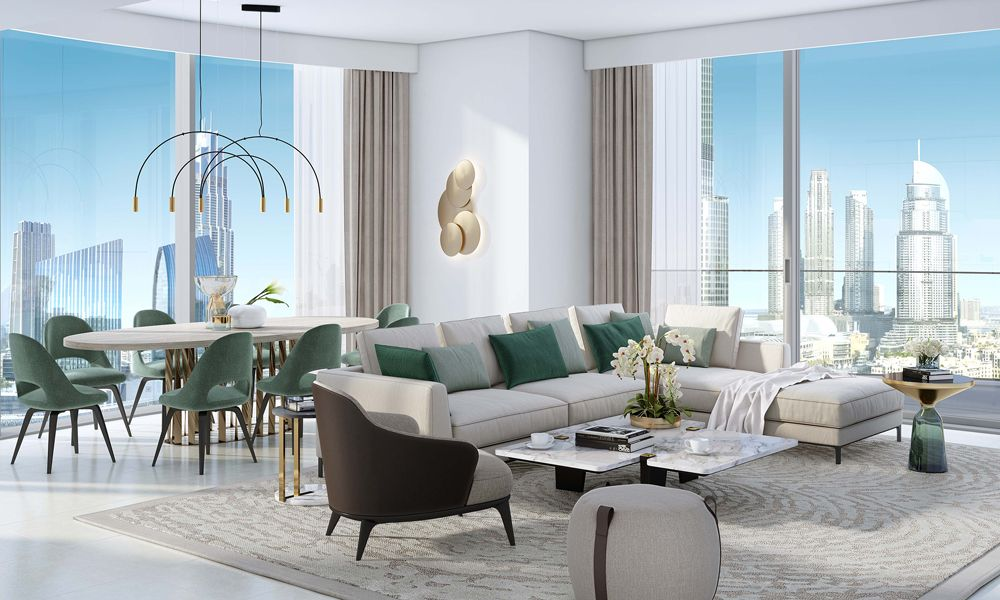 Dubai-Emaar-Grande-Apartments-Living-Area