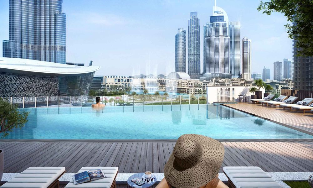 Dubai-Emaar-Grande-Apartments-Swimming-Pool