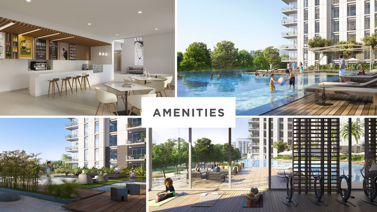 Dubai Park Ridge Apartments Amenities
