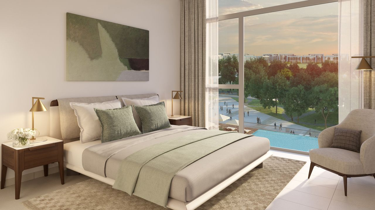 Dubai Park Ridge Apartments Bedroom