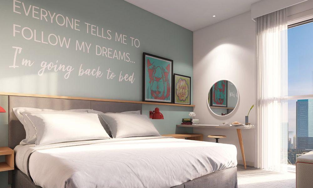 RH Rove City Walk Hotel Room Bedroom