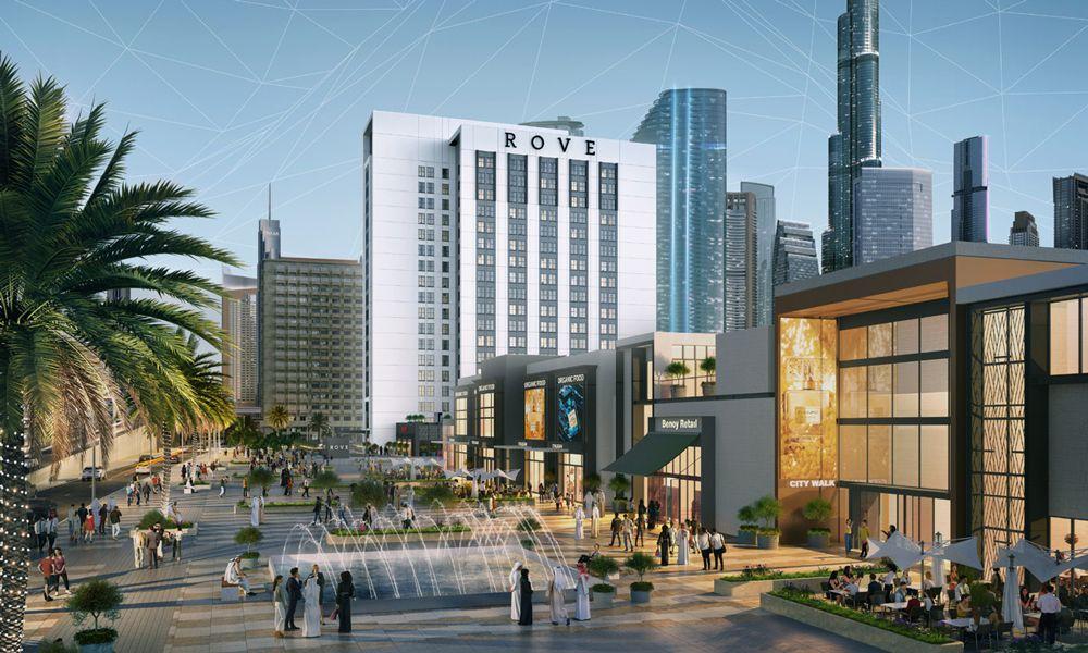 RH Rove City Walk Hotel Room Overview