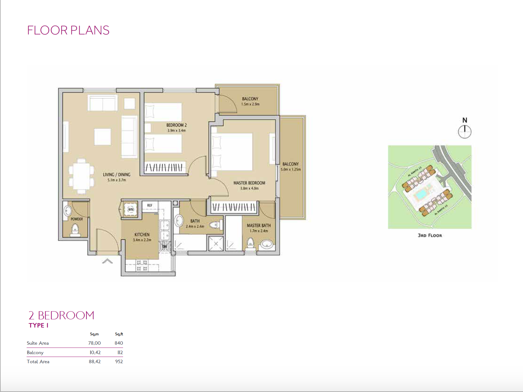 8 Bedroom Apartment  Remraam  8 SQFT  Dubailand  One Investments