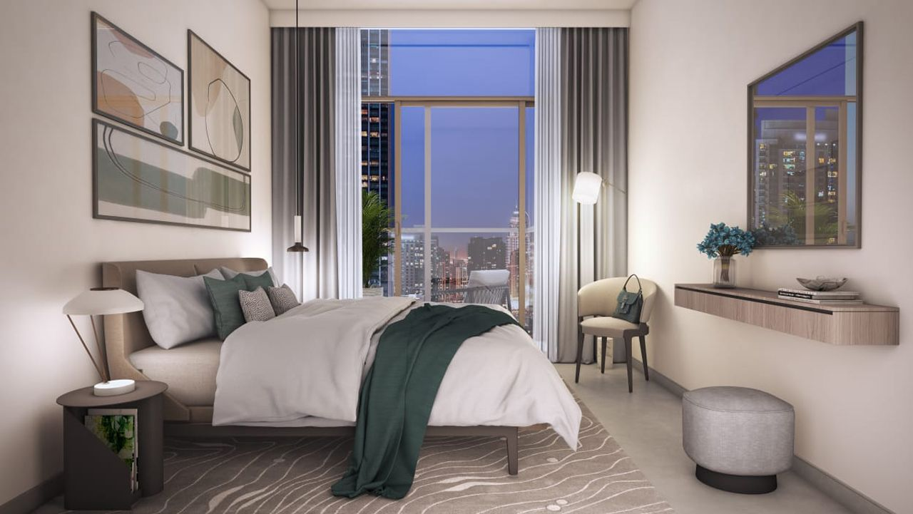 Dubai Burj Crown Bedroom