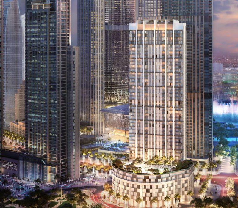 Dubai Burj Crown Overview