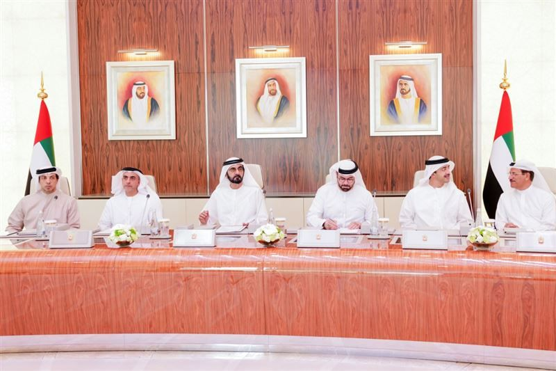Sheikh Mohammed chairs the first UAE Cabinet meeting of the year