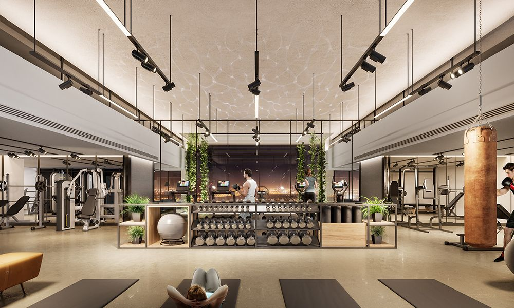 Dubai-MBR-Wilton-Park-Residences-Gym