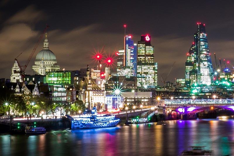 London city backdrop
